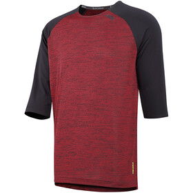 IXS Carve X 3/4 Jersey Men night red/black